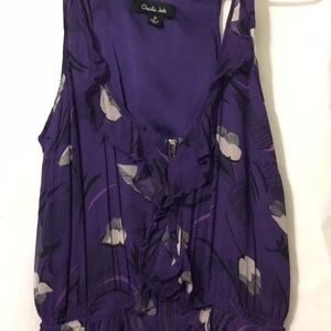 Purple Charlie Jade dress